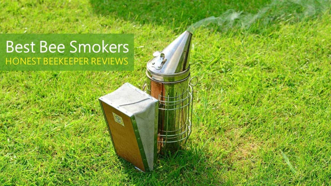 MUDUOBAN Electric Bee Hive Smoker for Beekeeper Stainless Steel with Heat Shield